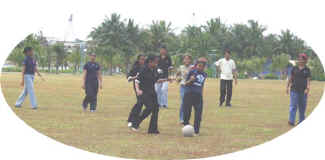 Girls soccer, Naujawan Camp, UK